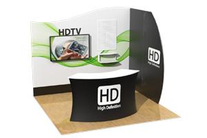 10x10 Klik Trade Show Booth