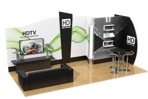 10x20 Klik Trade Show Booths