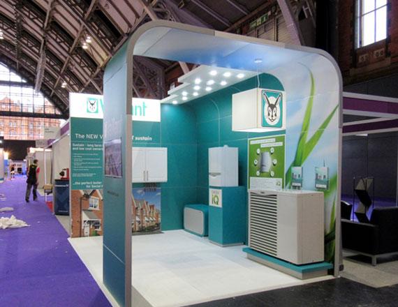 beMatrix trade show booths