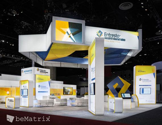 beMatrix trade show exhibits