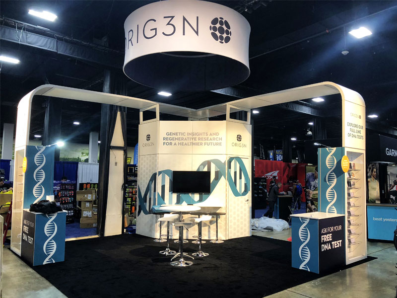 Exhibition Booth Setup : Exhibit potential trade show booth design and services